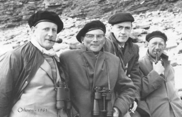 Les Baird, Hubert Sinar, Tom Edmondson and Frank R Horrocks
