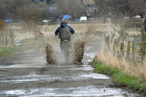 29.03.15. Scrambler, Lordship Lane, Frodsham Marsh. Bill Morton