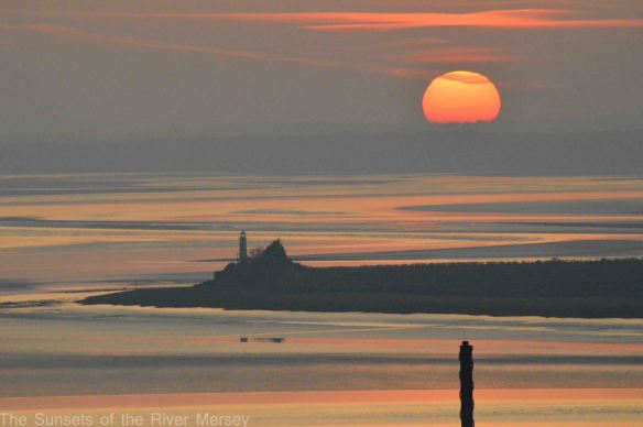 22.03.15. Sunset over Hale Lighthouse. Bill Morton