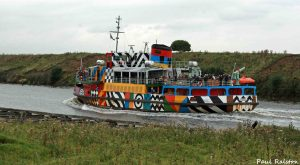14.09.15. Razzle Dazzle, Manchester Ship Canal at Frodsham Marsh. Paul Ralston (5)