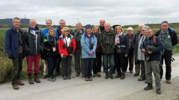 18.10.15. Chester RSPB Group field trip to Frodsham Marsh