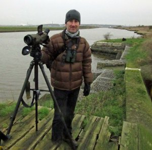 01.01.16. Ray Scally birding Frodsham Marsh. (2)