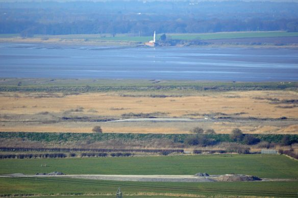 20.03.16. No.4 tank, Frodsham Marsh from Helsby Hill. Bill Morton (1)