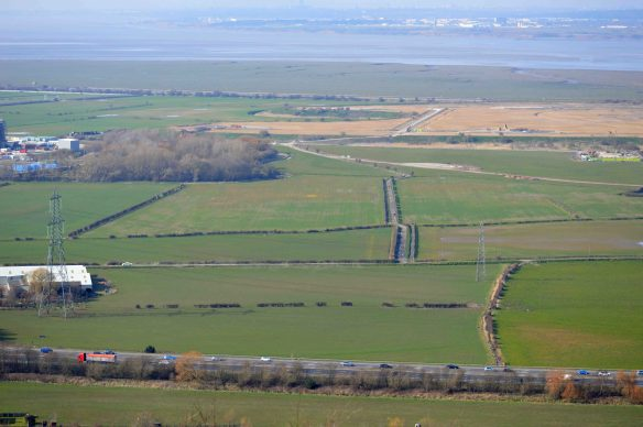 20.03.16. No.4 tank, Frodsham Marsh from Helsby Hill. Bill Morton (5)