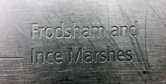 Frodsham and Ince Marshes sign (1)