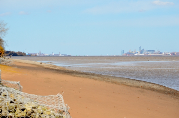 10.04.16. Beach on the Mersey by Shaun Hickey